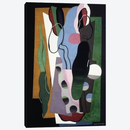 Les Tulipes, 1928 Canvas Print #GVL2} by Georges Valmier Canvas Art