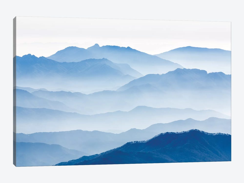 Misty Mountains by Gwangseop eom 1-piece Art Print