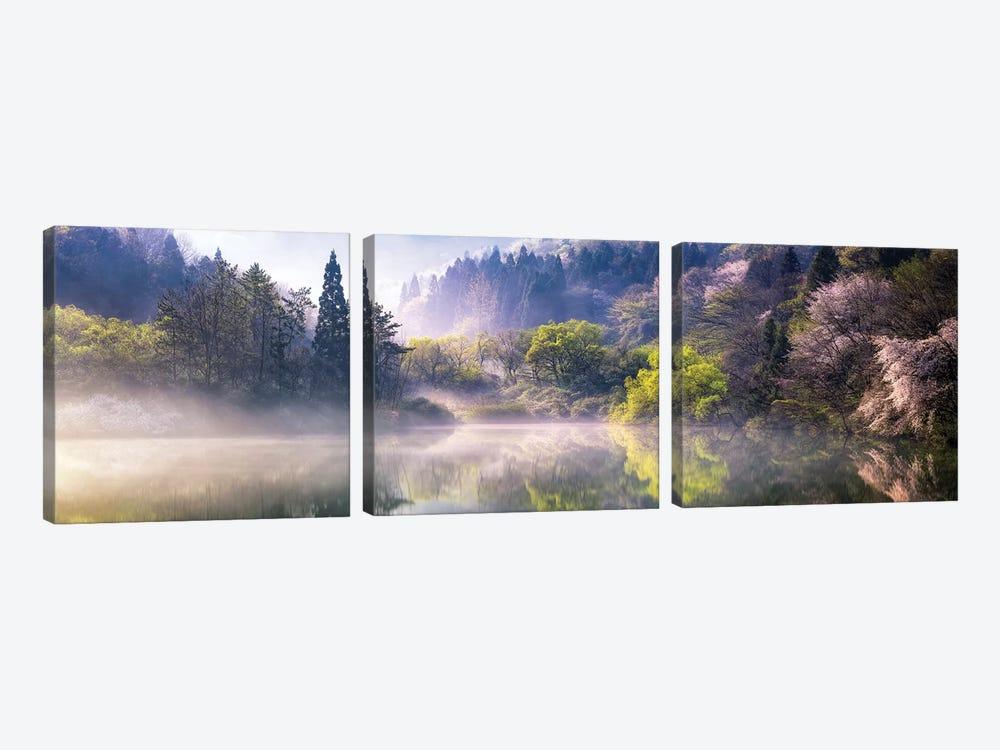 Morning Calm by Gwangseop eom 3-piece Canvas Wall Art