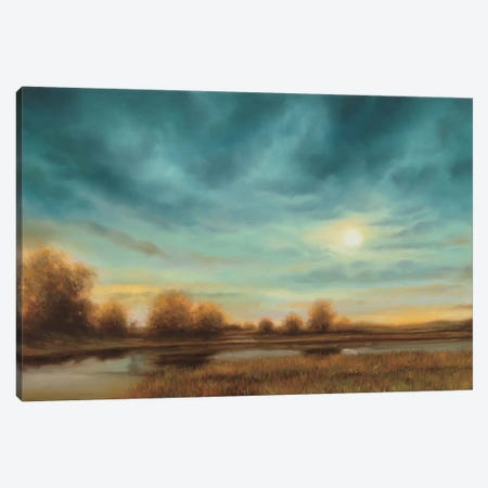 Evening Approaches Canvas Print #GWI10} by Gregory Williams Canvas Art Print