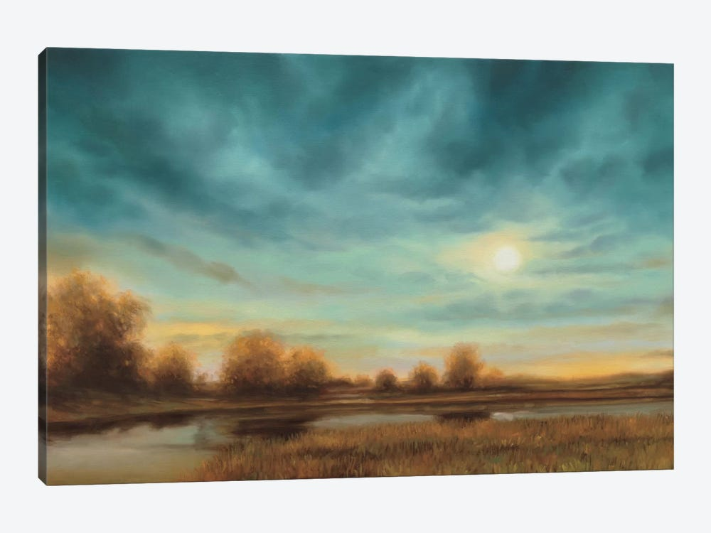 Evening Approaches by Gregory Williams 1-piece Canvas Wall Art