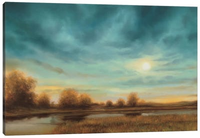 Evening Approaches Canvas Art Print