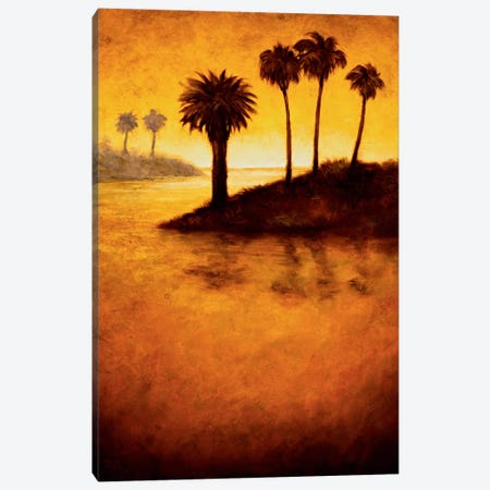 Lagoon I Canvas Print #GWI19} by Gregory Williams Canvas Print