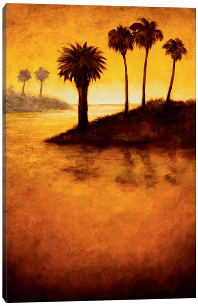 Lagoon I Canvas Art Print