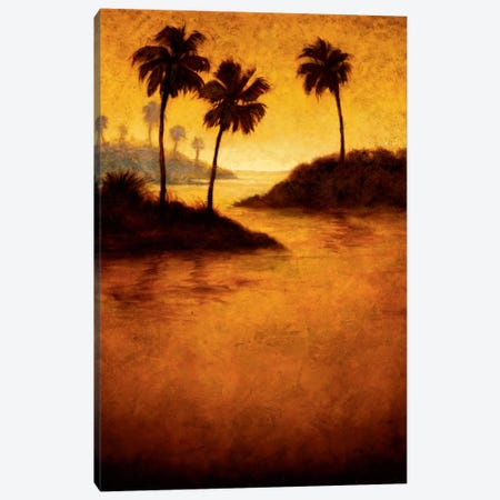 Lagoon II Canvas Print #GWI20} by Gregory Williams Canvas Wall Art