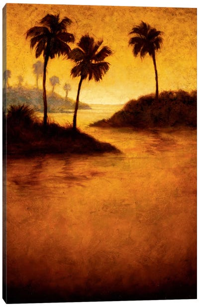 Lagoon II Canvas Art Print