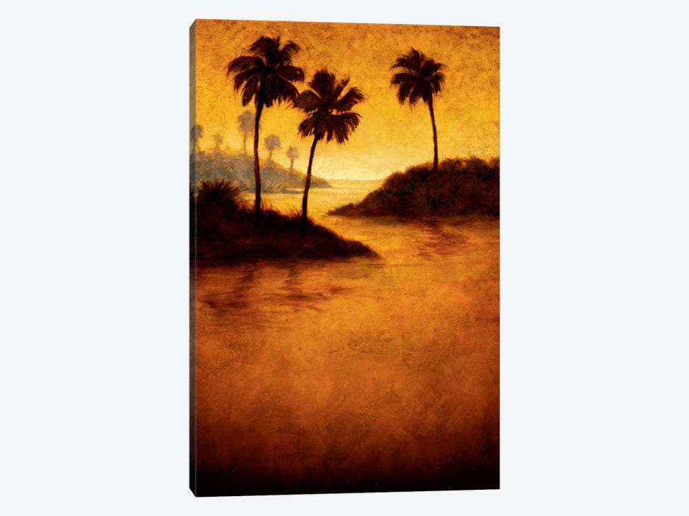 Lagoon II by Gregory Williams 1-piece Canvas Art Print