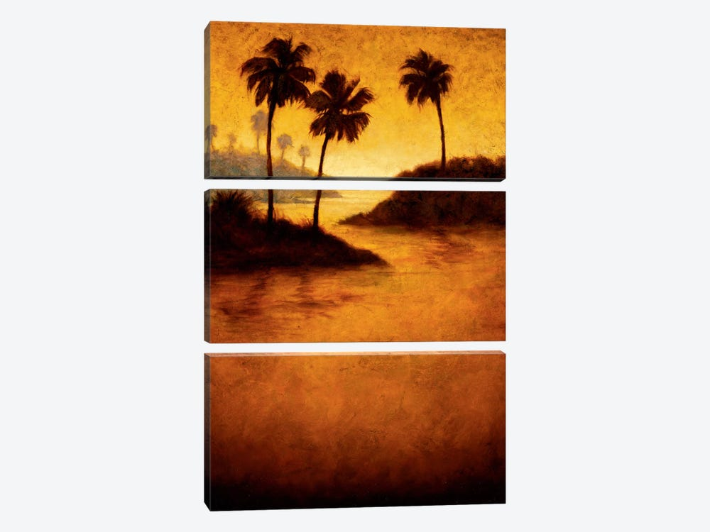 Lagoon II by Gregory Williams 3-piece Art Print