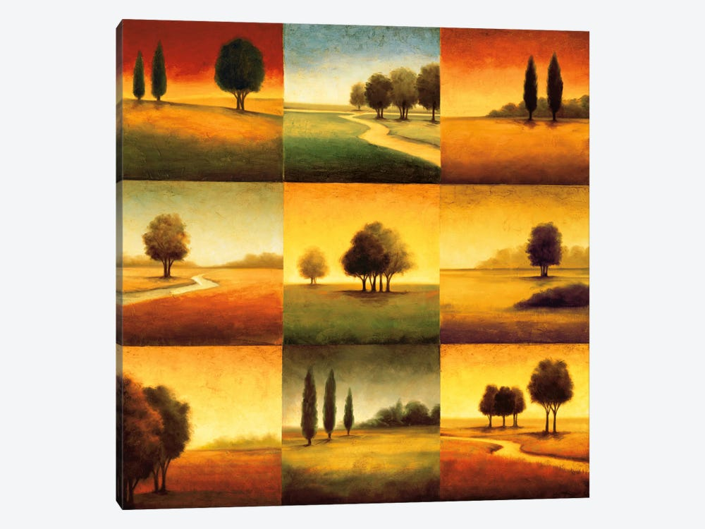 Landscape Perspectives by Gregory Williams 1-piece Canvas Artwork