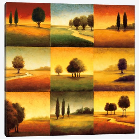Landscape Perspectives Canvas Print #GWI21} by Gregory Williams Canvas Wall Art