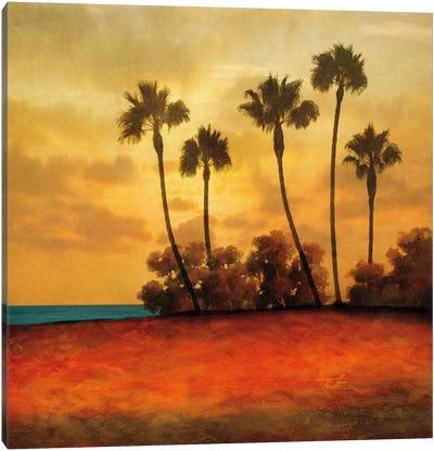 Las Palmas I Canvas Art Print