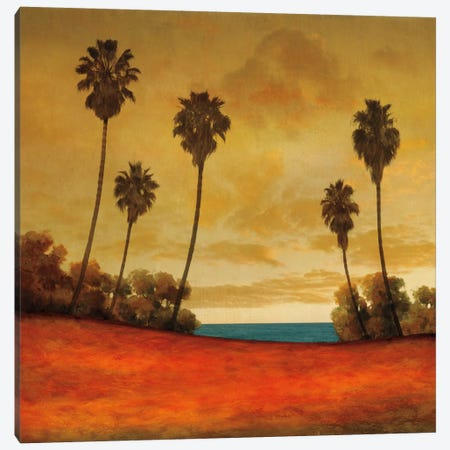 Las Palmas II Canvas Print #GWI23} by Gregory Williams Canvas Wall Art