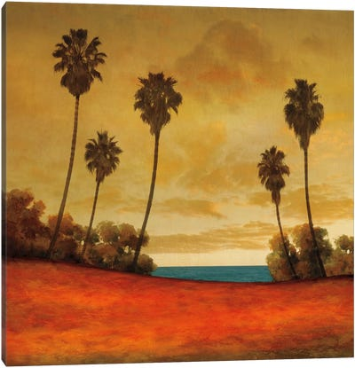 Las Palmas II Canvas Art Print