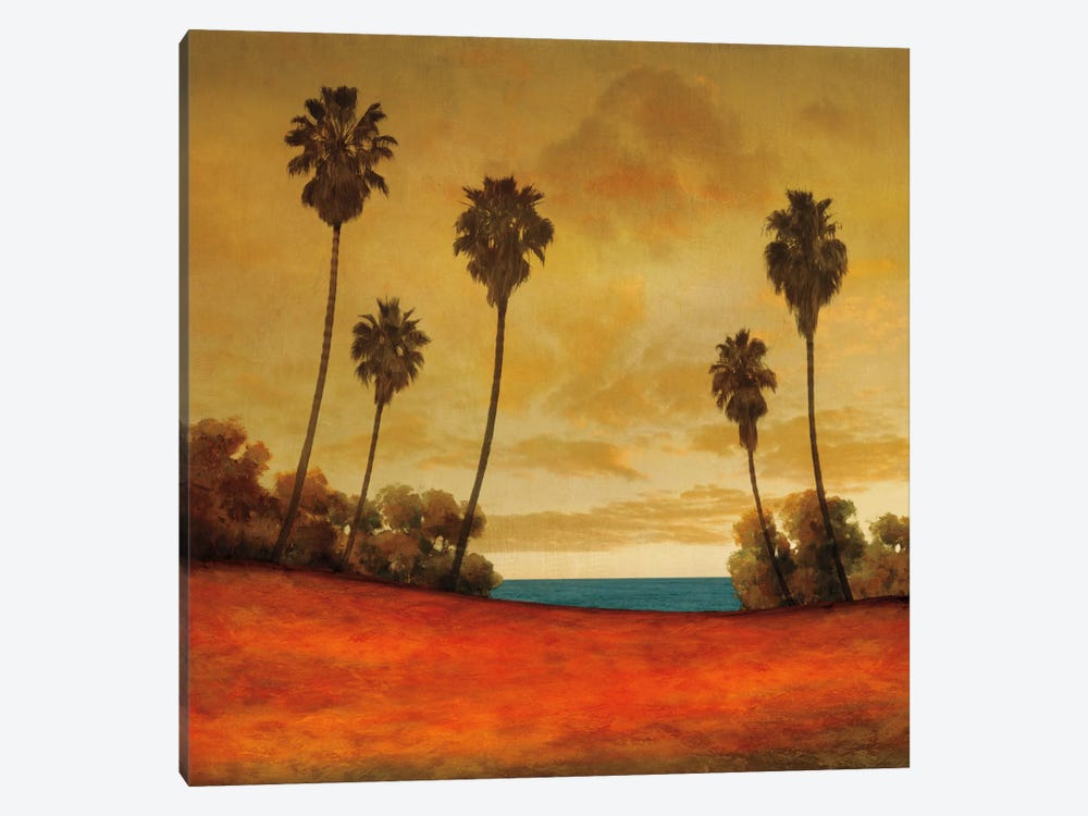 Las Palmas II 1-piece Canvas Wall Art
