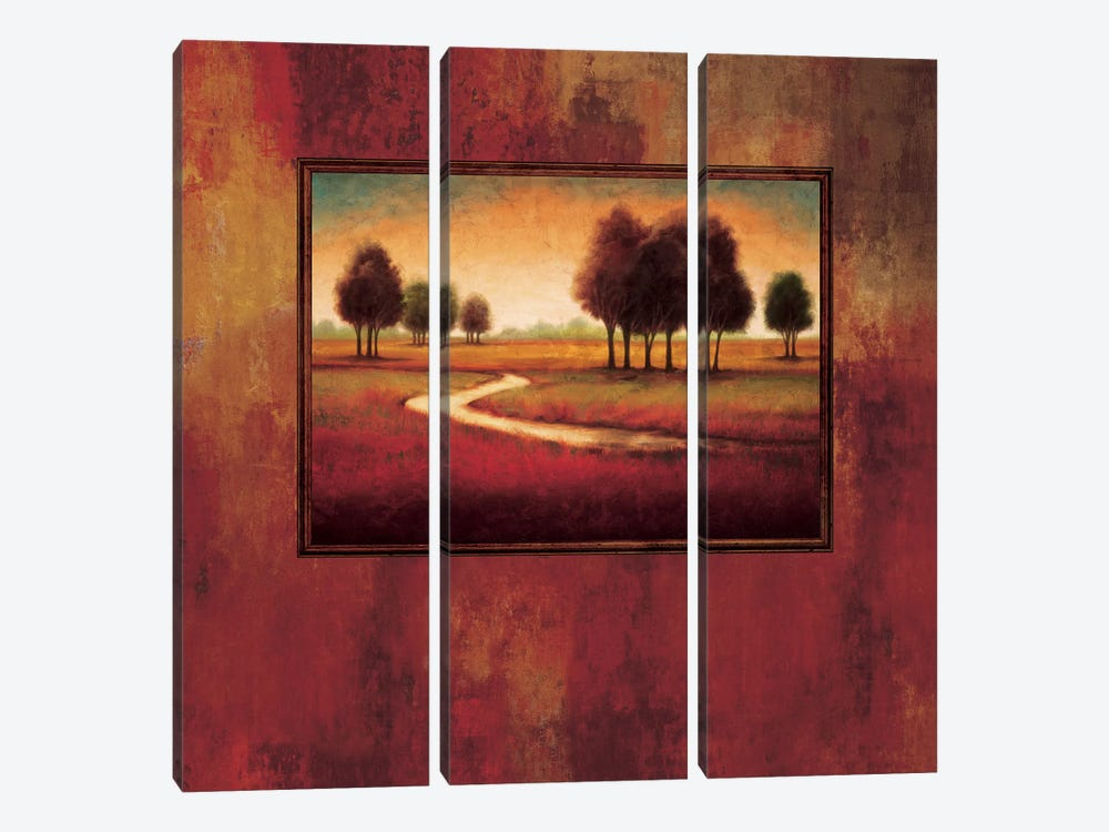 Rejoice II by Gregory Williams 3-piece Canvas Wall Art