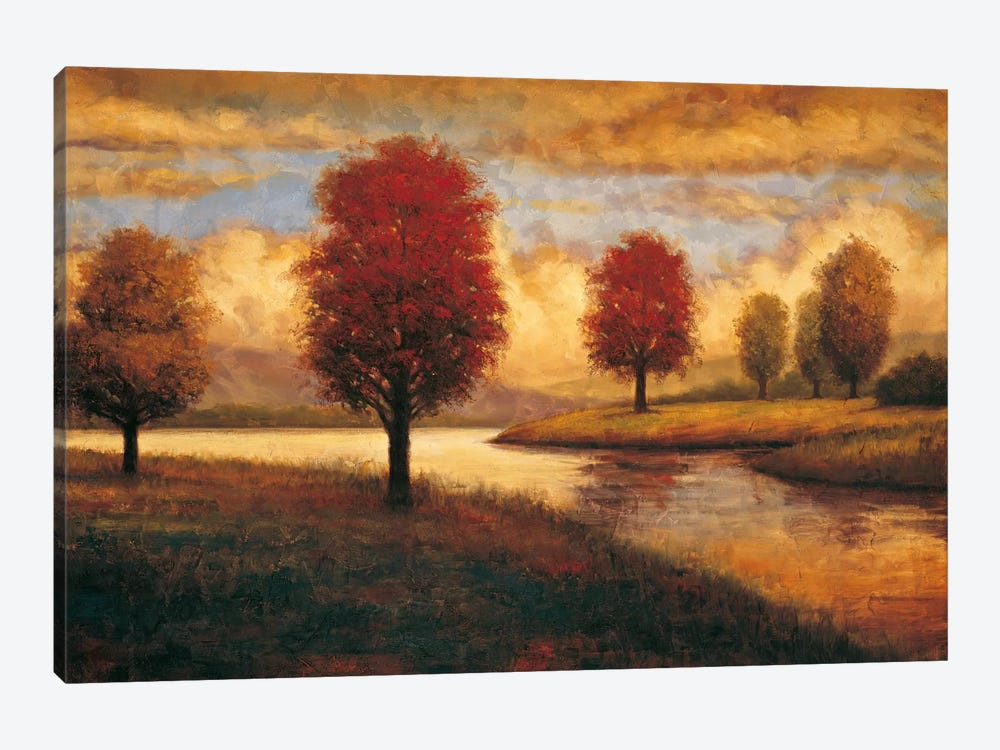 Serene I by Gregory Williams 1-piece Canvas Artwork