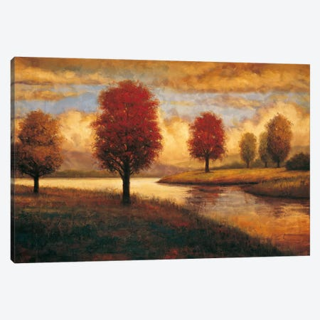Serene I Canvas Print #GWI41} by Gregory Williams Canvas Wall Art