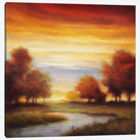 Sundown I Canvas Print #GWI47} by Gregory Williams Art Print