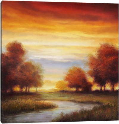 Sundown I Canvas Art Print