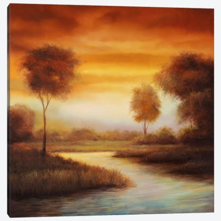 Sundown II Canvas Print #GWI48} by Gregory Williams Canvas Wall Art