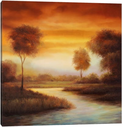 Sundown II Canvas Art Print