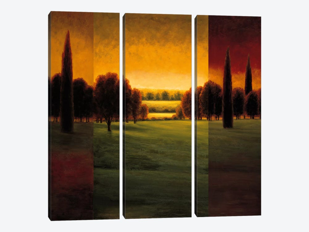 The Break Of Dawn I by Gregory Williams 3-piece Art Print