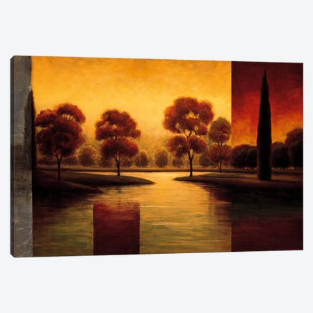 The Break Of Dawn II Canvas Print #GWI54} by Gregory Williams Canvas Art