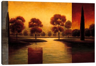 The Break Of Dawn II Canvas Art Print