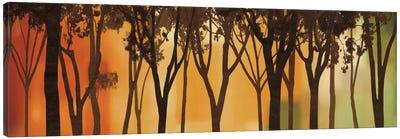 Twilight Silhouette Canvas Art Print