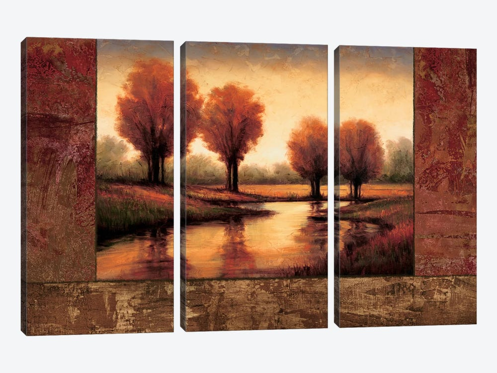 Daybreak II 3-piece Canvas Artwork
