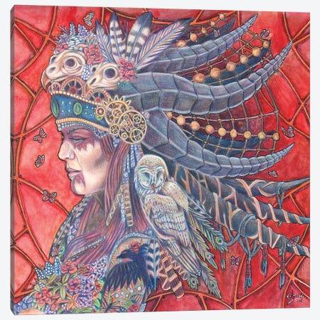 Wisdom Canvas Print #GWY10} by Garnett Wyatt Canvas Art Print