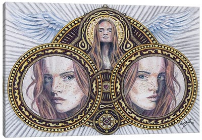 Saint Canvas Art Print