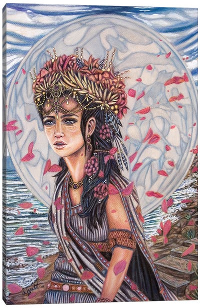 Helen Of Troy Canvas Art Print