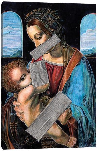 Censorship Canvas Art Print