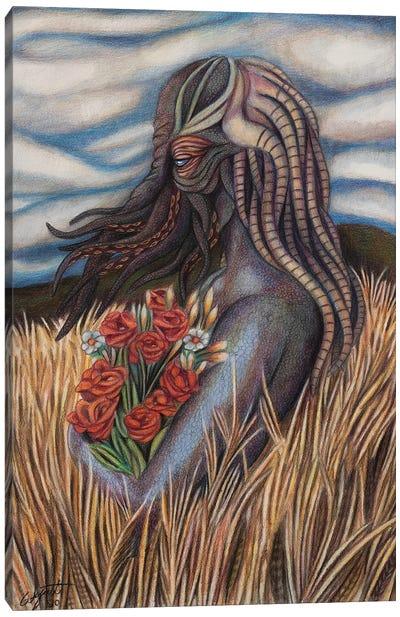 Monstrously Beautiful Canvas Art Print