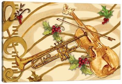 Christmas Music I Canvas Art Print