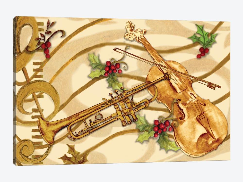 Christmas Music I by Janice Gaynor 1-piece Art Print