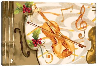 Christmas Music II Canvas Art Print