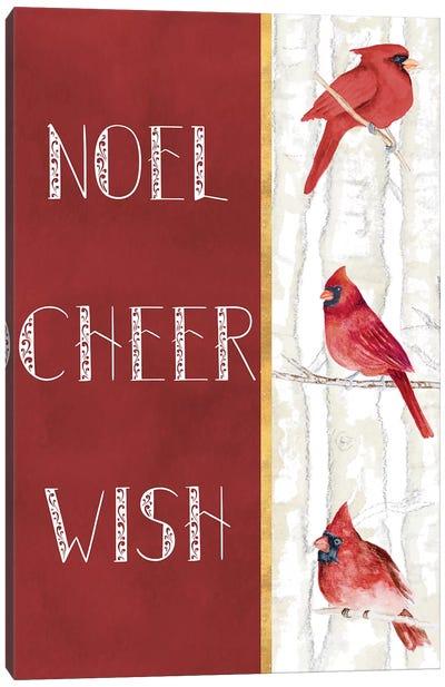 Noel Cheer Wish Canvas Art Print
