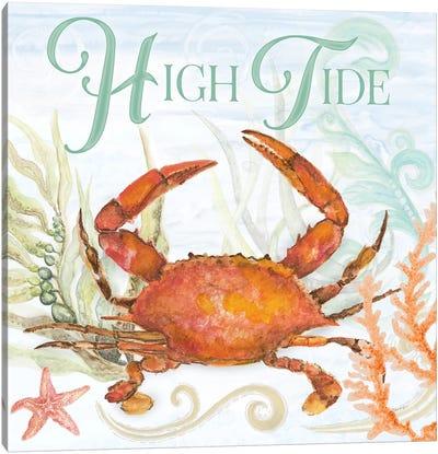 High Tide Canvas Art Print
