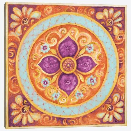Pink Medallion II Canvas Print #GYN37} by Janice Gaynor Canvas Art