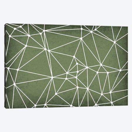 Delaunay Triangulation Canvas Print #GYO102} by GetYourNerdOn Canvas Art Print