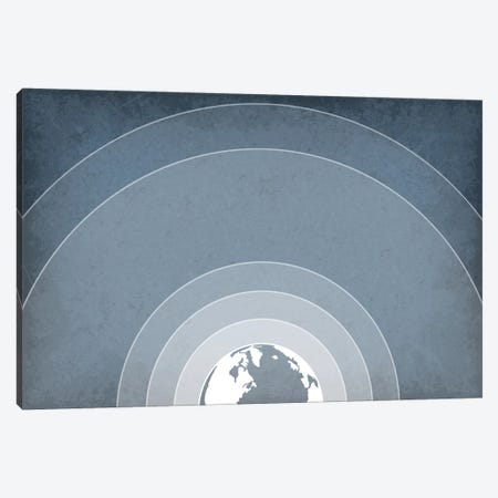 Earth's Atmosphere Canvas Print #GYO106} by GetYourNerdOn Canvas Artwork