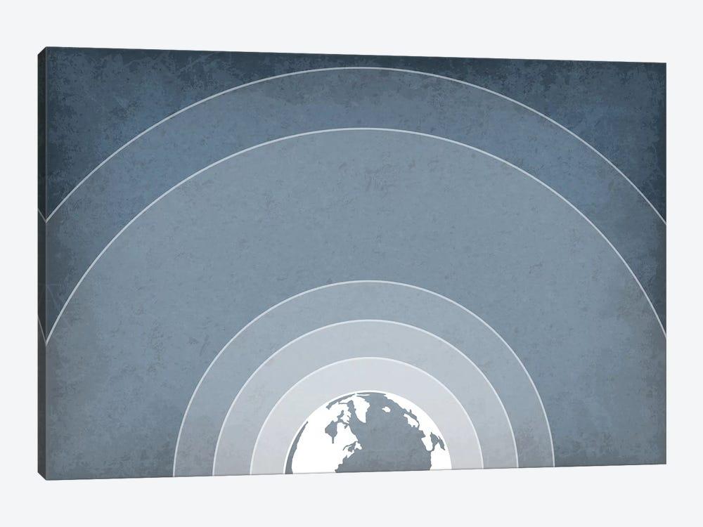 Earth's Atmosphere by GetYourNerdOn 1-piece Canvas Artwork