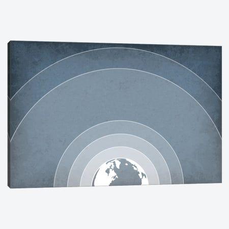 Earth's Atmosphere Canvas Print #GYO106} by GetYourNerdOn Canvas Artwork