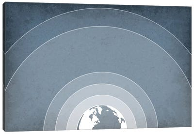 Earth's Atmosphere Canvas Art Print
