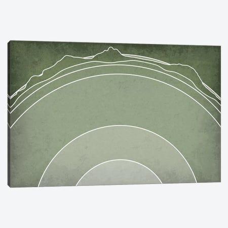 Earth's Layers Canvas Print #GYO107} by GetYourNerdOn Canvas Artwork