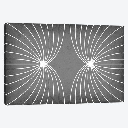 Electric Field With Like Charges Canvas Print #GYO108} by GetYourNerdOn Art Print