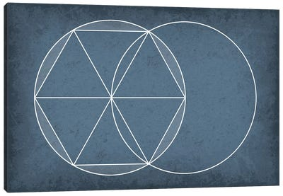 Euclidean Geometry Canvas Art Print