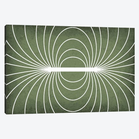 Magnetic Field Canvas Print #GYO116} by GetYourNerdOn Art Print